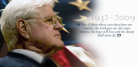 Senator Edward Kennedy 1932-2009