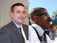 Pastor Steven Anderson and gun-toter Chris Broughton