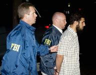 FBI agents arrest reputed Al Qaeda terror cell operative Najibullah Zazi in Aurora, Colo.