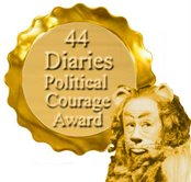 44 Diaries Political Courage Award