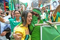 Iranian Protesters on Sept. 18, 2009
