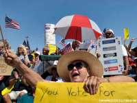 Tea Party Protesters n Las Vegas