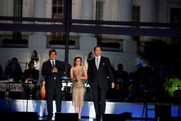 Comedian George Lopez, actress Eva Longoria Parker and actor Jimmy Smits were last night's hosts