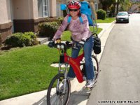 Keith and Mary Felch have cut their driving in half by using e-bikes.