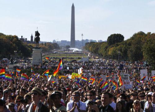 Gay March on Washington 10/11/09