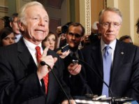 harry reid and joe lieberman