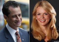 Rep. Anthony Weiner (D-NY) and Betsy McCaughey