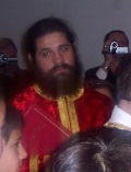 Rev. Alexios Marakis at St. Gregory the Theologian Parish in Mansfield, MA 2007