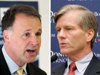 Creigh Deeds (left) and Bob McDonnell (right)