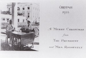 The Roosevelts - Christmas Card from 1935