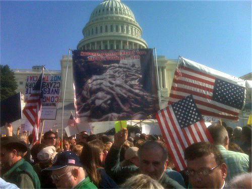 "11/05/2009 ""Health Care Reform = The Holocaust"""