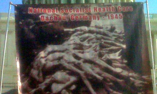 """11/05/2009 """"Health Care Reform = The Holocaust"""""""