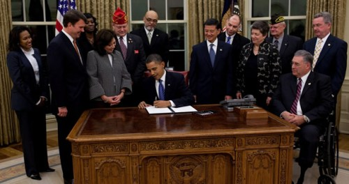 President Obama Launches Major Veterans Employment Initiative