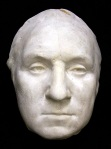 George Washington life mask, from the original Houdon statue, 1785
