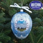 The 2009 John Adams Administration Christmas Ornament