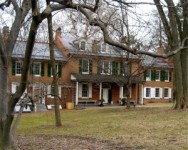 Wheatland, the Pennsylvania country estate of James Buchanan, where he would spend Christmas during his time away from the White House