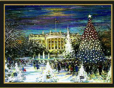 1992 George H.W. Bush White House Christmas Card