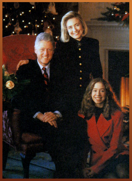 Clinton Family Portrait