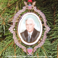 2004 American President Collection Franklin D. Roosevelt Ornament