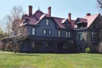 Lawnfield, the Mentor, Ohio estate of Garfield, where he and his family spent many Christmases together