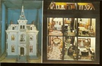 The Doll House given to Fanny Hayes on her first Christmas in the White House, which was put on display by Pat Nixon along with several White House Christmas cards received by Rutherford B. Hayes during his presidency.