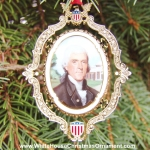 2004 American President Collection Thomas Jefferson Ornament