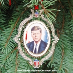 2004 American President Collection John F. Kennedy Ornament