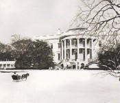 The official presidential Christmas cards from 1962