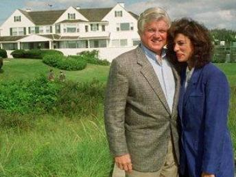 Senator Ted Kennedy and Victoria Reggie Kennedy
