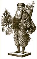 Santa Claus from Harper's Bazaar, December 1867