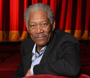 Actor, film director, and narrator Morgan Freeman