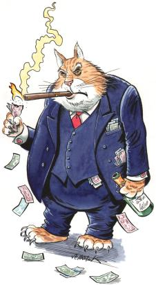 Meet Fat Cat the Banker