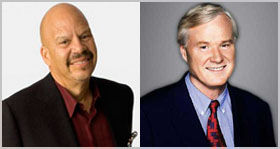 Tom Joyner and Chris Matthews