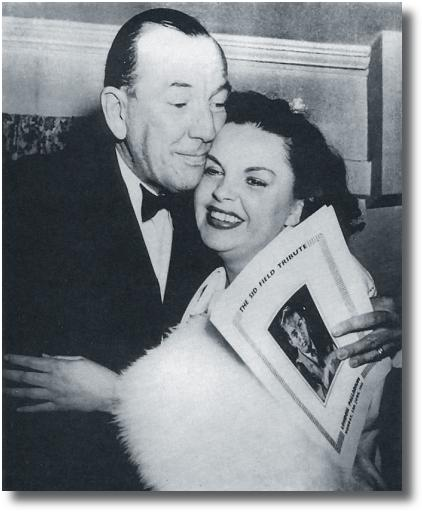 Noel Coward and Judy Garland 1951