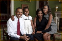 Obama Family Portrait by Annie Lebowitz