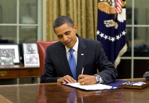 President Obama Signs Legislation
