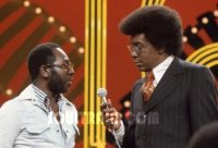 Curtis Mayfield and Don Cornelius