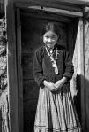 Navajo Girl, Canyon de Chelly Arizona, circa 1942