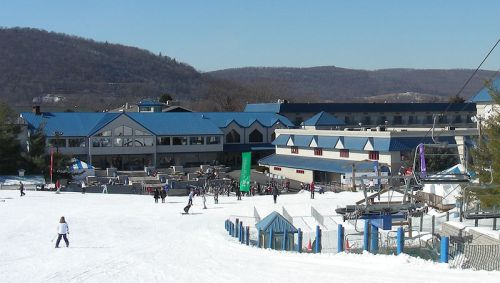 Base area at Liberty Mountain Resort