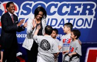 Michelle+Obama+Visits+Soccer+Clinic+Part+Anti+nnzyJinU3txl