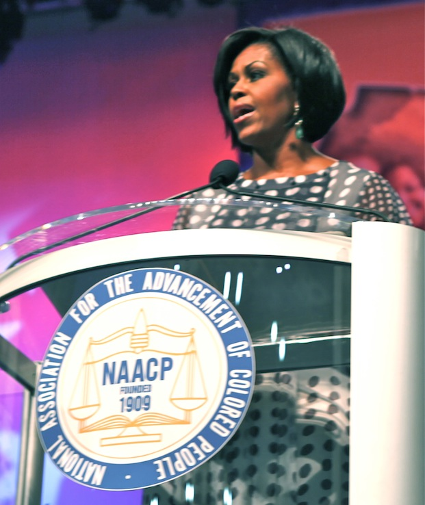 michelle obama speech naacp What we celebrate tonight is not simply the journey the naacp has full text of president obama speech to the naacp the same story holds for michelle.