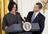 Obama+First+Lady+Attend+International+Women+pThusrRU5BXl